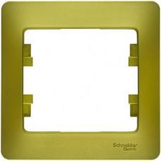 Glossa Фисташковый Рамка 1-ая | GSL001001 | Schneider Electric