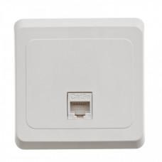ЭТЮД С/У Белый Розетка компьютерная 1-ая кат.5e (RJ45) | KOMC-001B | Schneider Electric