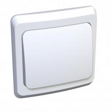 ЭТЮД С/У Белый Выключатель кнопочный 1-клавишный | KC10-001B | Schneider Electric
