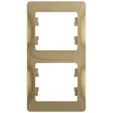 Glossa Титан Рамка 2-ая, вертикальная | GSL000406 | Schneider Electric