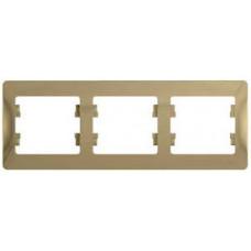 Glossa Титан Рамка 3-ая, горизонтальная | GSL000403 | Schneider Electric