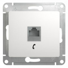 Glossa Белый Розетка телефонная RJ11 | GSL000181T | Schneider Electric