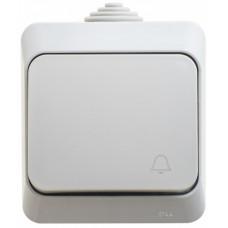 ЭТЮД О/У Серый Выключатель 1-клавишный IP44 | BA10-041C | Schneider Electric