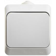 ЭТЮД О/У Серый Переключатель 1-клавишный IP44 сх.6 | BA10-046C | Schneider Electric