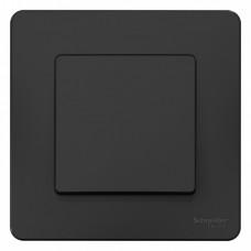 Blanca С/У Антрацит Выключатель 1-клавишный, 10А, 250B | BLNVS010106 | Schneider Electric