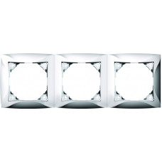 ДУЭТ Бежевый Рамка 3-ая | WDE000203 | Schneider Electric
