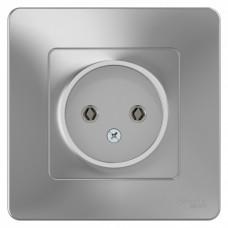 Blanca С/У Алюминий Розетка б/з без шторок 16А, 250В | BLNRS000013 | Schneider Electric