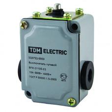 Выключатель путевой контактный ВПК-2110Б-У2 10А 660В IP67 | SQ0732-0003 | TDM