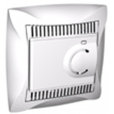 ДУЭТ Белый Регулятор теплого пола с датчиком +5 до +50°C, 10А, (в сборе) | WDE000138 | Schneider Electric