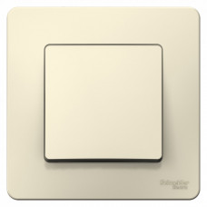 Blanca С/У Молочный Выключатель 1-клавишный, 6А, 250B | BLNVS006102 | Schneider Electric