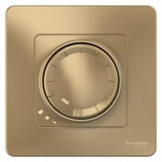 Blanca С/У Титан Светорегулятор (диммер) поворотно-нажимной 400Вт   BLNSS040014   Schneider Electric