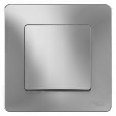 Blanca С/У Алюминий Переключатель 1-клавишный, 10А, 250B | BLNVS010603 | Schneider Electric