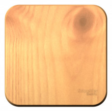 Blanca О/У с изол. пласт. Ясень Выключатель 1-клавишный 10А, 250B | BLNVA101015 | Schneider Electric