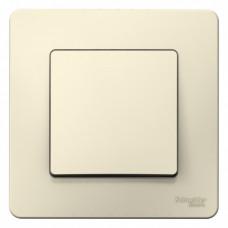 Blanca С/У Молочный Выключатель 1-клавишный, 10А, 250B | BLNVS010102 | Schneider Electric