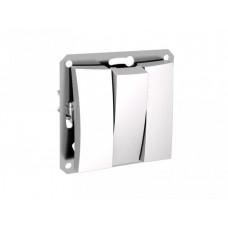 ДУЭТ Белый Выключатель 3-клавишный (сх.3) | WDE000131 | Schneider Electric