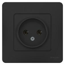 Blanca С/У Антрацит Розетка б/з без шторок 16А, 250В | BLNRS000016 | Schneider Electric