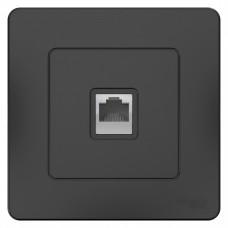 Blanca С/У Антрацит Розетка ТЛФ RJ11 | BLNIS011006 | Schneider Electric
