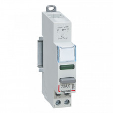 CX3 Выключатель кноп.фикс. 1НО зел.индик. 110/400В   412914   Legrand