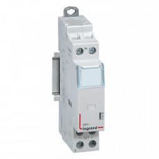 Вспомогательное устройство управления - для импульсных реле 230 В~ - централизованное управление - 1 модуль   412436   Legrand