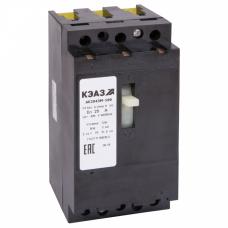 Выключатель автоматический АЕ2043М-100-12,5А-12Iн-400AC-У3 | 104565 | КЭАЗ