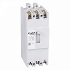 Выключатель автоматический АЕ2063М1-100-125А-10Iн-400AC-У3 | 104526 | КЭАЗ