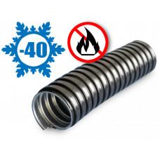 Металлорукав в ПВХ изоляции МРПИ НГ 32 черный (20 м/уп.) | 42215 | ЗЭТА