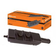 Пост кнопочный ПКТ-20 на 2 кнопки с ключом IP30 | SQ0706-0004 | TDM