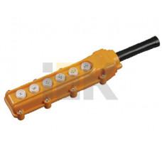 Пульт управления ПКТ-63 на 6 кнопок IP54 | BPU10-6 | IEK