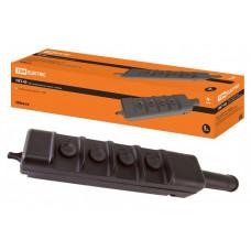 Пост кнопочный ПКТ-40 на 4 кнопки с ключом IP30 | SQ0706-0005 | TDM