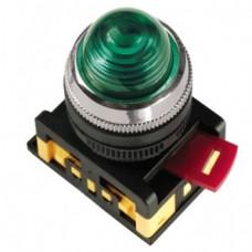 Лампа AL-22 сигнальная d22мм зеленый неон/240В цилиндр | BLS20-AL-K06 | IEK