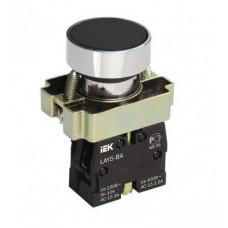 Кнопка управления LAY5-BA21 без подсветки черная 1з   BBT60-BA-K02   IEK
