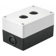 Корпус КП102 для кнопок 2места белый | SQ0705-0002 | TDM