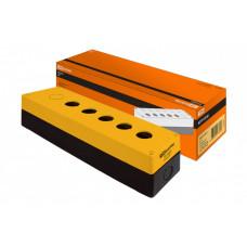 Корпус КП105(6) для кнопок 5(6) мест желтый | SQ0705-0010 | TDM