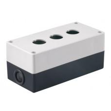 Корпус КП103 для кнопок 3места белый | SQ0705-0003 | TDM