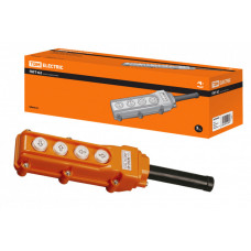 Пульт управления ПКТ-62 на 4 кнопки IP54 | SQ0706-0001 | TDM