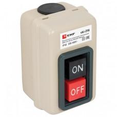 Выключатель кнопочный с блокировкой ВКИ-216 10А 3P IP40 EKF PROxima   vki-216   EKF