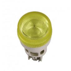 Лампа ENR-22 сигнальная d22мм желтый неон/240В цилиндр | BLS40-ENR-K05 | IEK