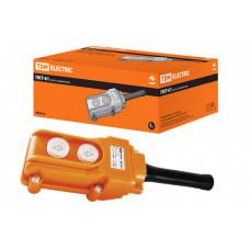 Пульт управления ПКТ-61 на 2 кнопки IP54 | SQ0706-0003 | TDM