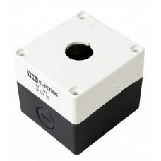 Корпус КП101 для кнопок 1место белый | SQ0705-0001 | TDM