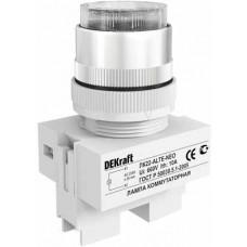Лампа комм. ALTE 22 мм Цвет:БЕЛЫЙ неон 220В ЛK-22 | 25006DEK | DEKraft