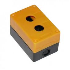 Корпус КП102 для кнопок 2места желтый | SQ0705-0007 | TDM