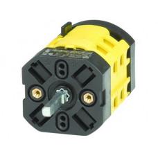 Переключатель кулачковый для подключения вольтметра к 3-м фазам и нейтрали (7 положений, с «0», 12А)   AS1223R   DKC