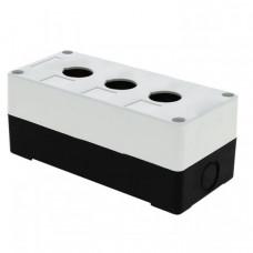 Корпус КП103 пластиковый 3 кнопки белый EKF PROxima | cpb-103-w | EKF