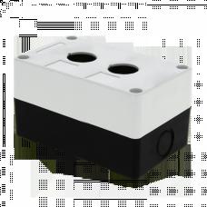 Корпус КП102 пластиковый 2 кнопки белый EKF PROxima | cpb-102-w | EKF