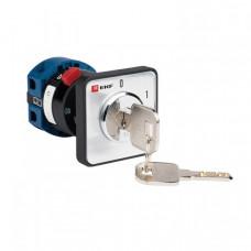 ПК-1-112 10А 2P «0-1» с ключом | pk-1-112-10 | EKF