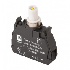 Лампа сменная c основанием XB4 белая 400В EKF PROxima   XB4-ELL-W   EKF