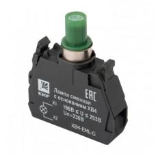 Лампа сменная c основанием XB4 зеленая 230В EKF PROxima   XB4-EML-G   EKF