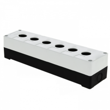 Корпус КП106 пластиковый 6 кнопок белый EKF PROxima | cpb-106-w | EKF