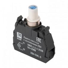 Лампа сменная c основанием XB4 синяя 230В EKF PROxima   XB4-EML-B   EKF