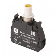 Лампа сменная c основанием XB4 желтая 400В EKF PROxima   XB4-ELL-Y   EKF